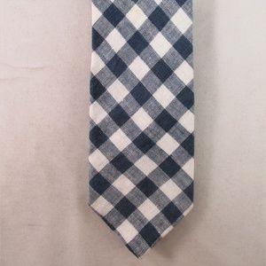 J. Crew Men's Gingham Check Cotton Tie